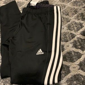 Adidas leggings with zipper! Size Large!